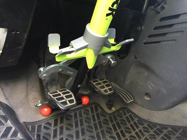 VW Bus Pedalsperre einrasten
