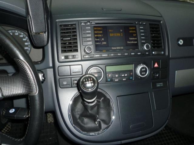 VW Bus T5 Fakeangebot Schalthebel und verschlissene Abdeckmanchette