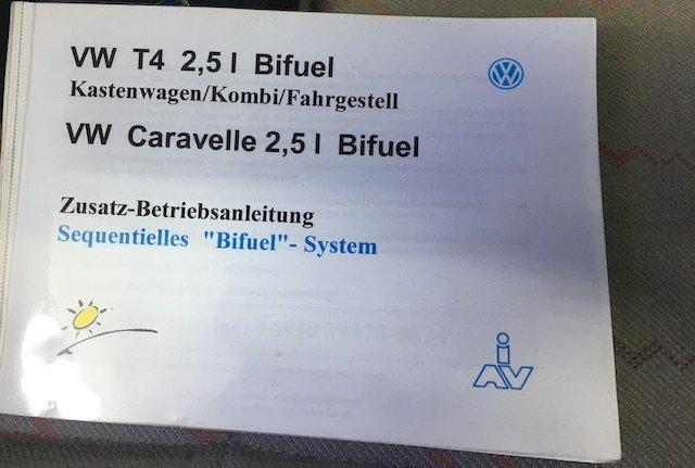 Betriebsanleitung T4 Gasumbau Freigabe Volkswagen