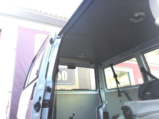 VW Bus Caravelle CL Dachhimmel hinten aus Pappe