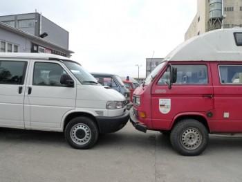 VW Bus Syncro höher legen Vergleich T3 und T4