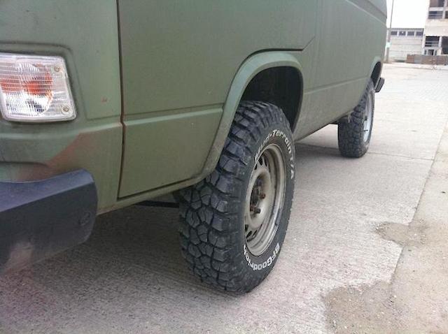 T3 Syncro Stollen Reifen Mud Terrain