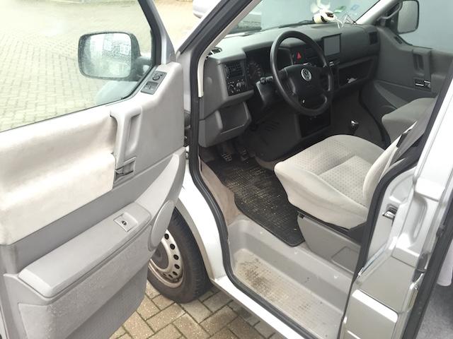 T4 Syncro Ausstattung Caravelle GL Blick Fahrersitzplatz