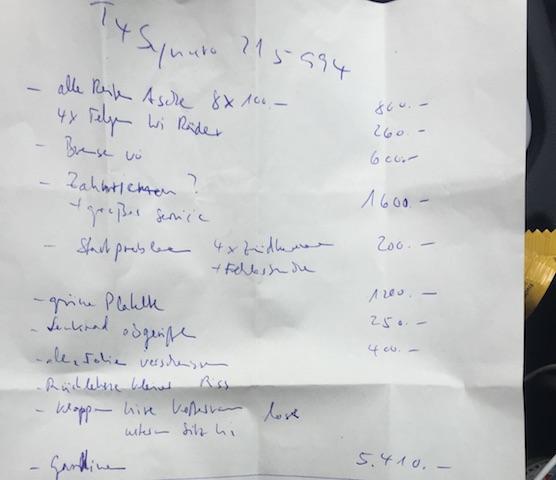 T4 Syncro kaufen Notizen Technik Check vor Ort VW BusChecker
