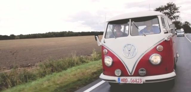 VW Bus T1 Scheunenfund Überführung zur H Kennzeichen Prüfung