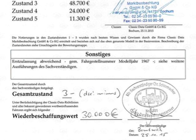 VW Bus T1 Wertgutachten erstellen mit dem Bus Checker Seite 2 von 2