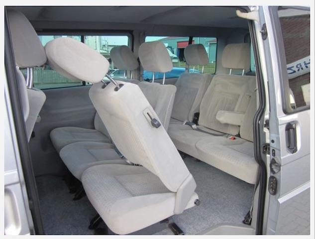 VW Bus T4 Caravelle Liegeflaeche schieben