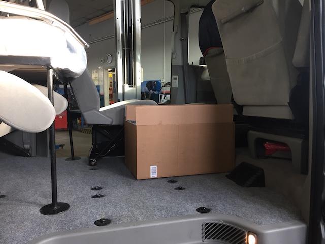 VW Bus T4 Kühlbox WAECO einstellen