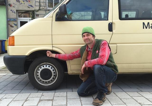 VW Bus T4 höher legen mit dem BusChecker Serienfahrwerk Transporter