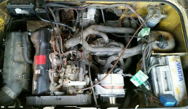 T3 1.6 Diesel general ueberholter Motor Postbus