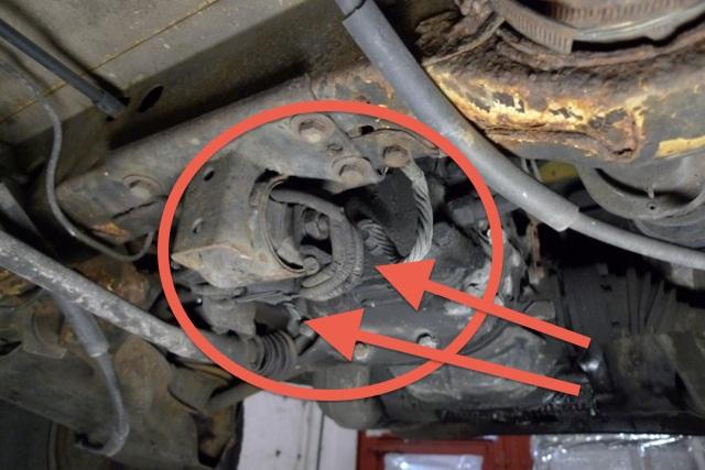 VW Bus Restauration zum Festpreis hier eine low budget Reparatur des Getriebehauptlagers