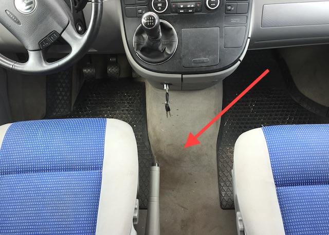 VW Bus Service hinterlaesst Spuren Dreckig und Speckig ist nicht nett