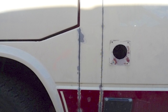 VW Bus T3 Nähte rosten bei schlechter Lackierung schon nach einem Jahr wieder