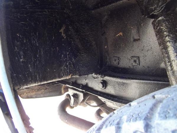 VW Bus T3 Unterboden schwarz gemacht keine Restauration