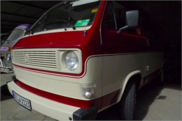 VW Bus T3 schlechte Restauration hat immer gleichen look