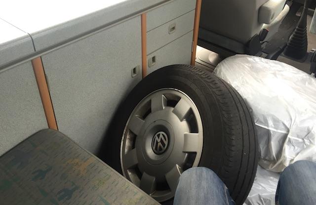 Alufelgen VW Bus T4 Camper machen einen guten Eindruck