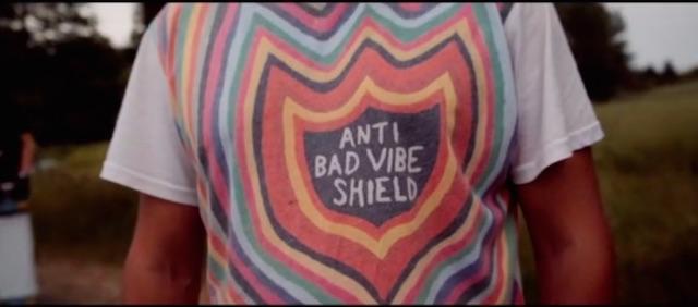 Anti bad vibe shirt Hans auf m zuparken Festival 2015