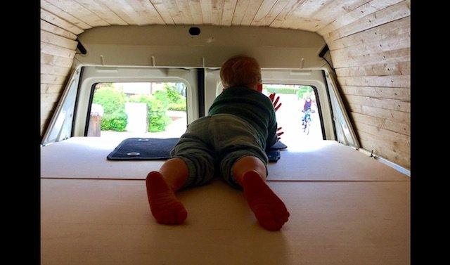 Dachausbau selbst gemacht VW Bus