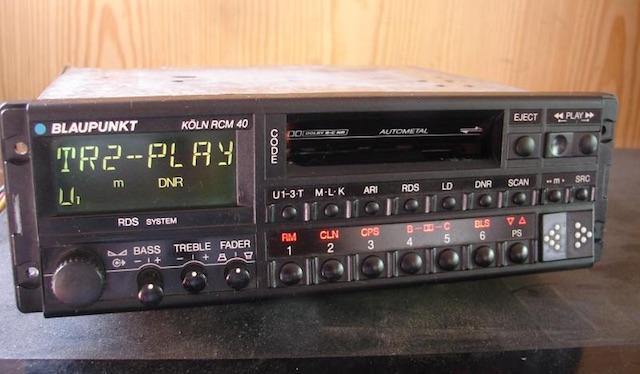 Radio Blaupunkt Köln in den 90ern ne Ansage