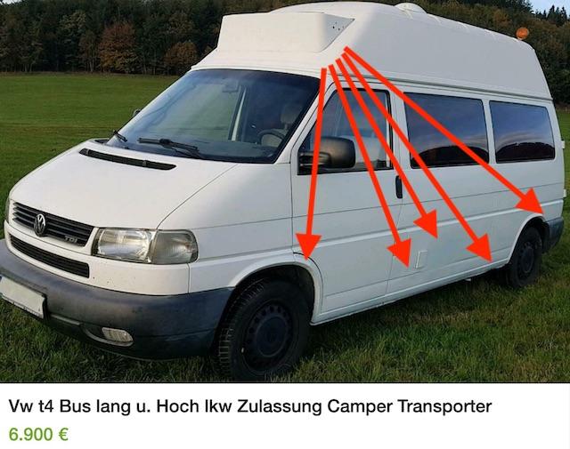 Rettungswagen VW Bus T4 kaufen Erfahrungen