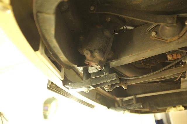 T2 Doka TEAM PANGEA altes Lenkgetriebe Vergleichsbild 08 2014