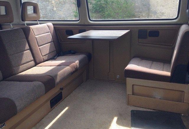 T3 Klappbank Multivan hinten bis 1986