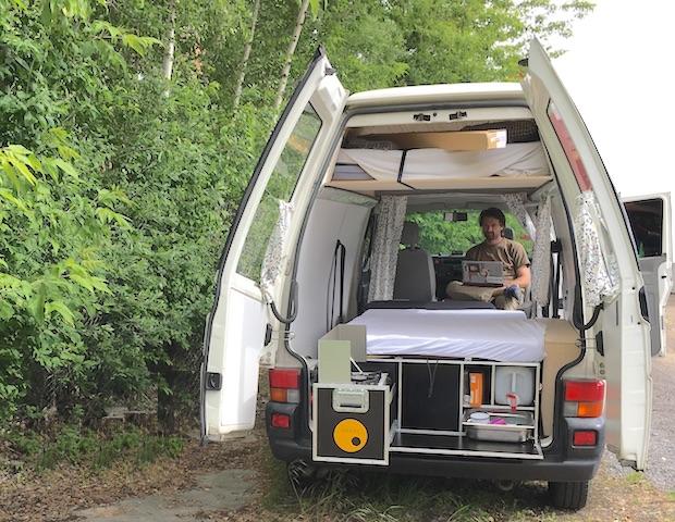 T4 Camper kukuk Box Test BusChecker