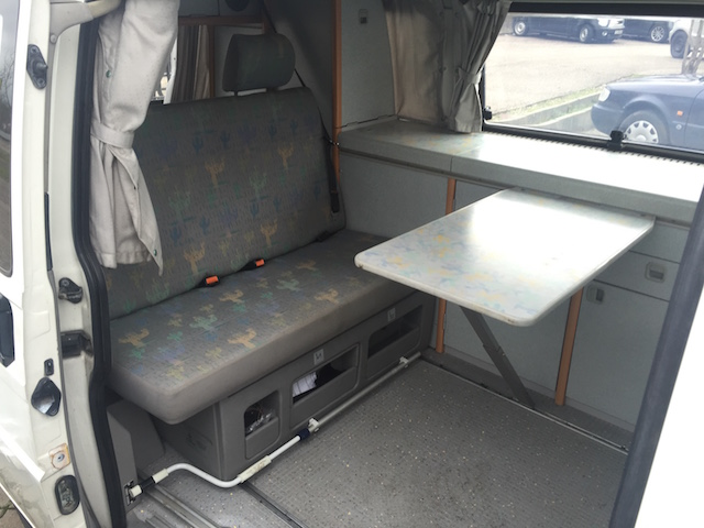 VW BUs T4 California Coach Innenraum gut durchdacht