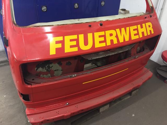 VW Bus Front T3 Ausführung luft gekuehlt
