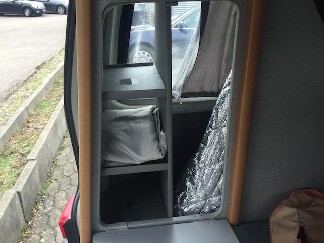 VW Bus HochDachCamper Westfalia bietet viele Stauräume