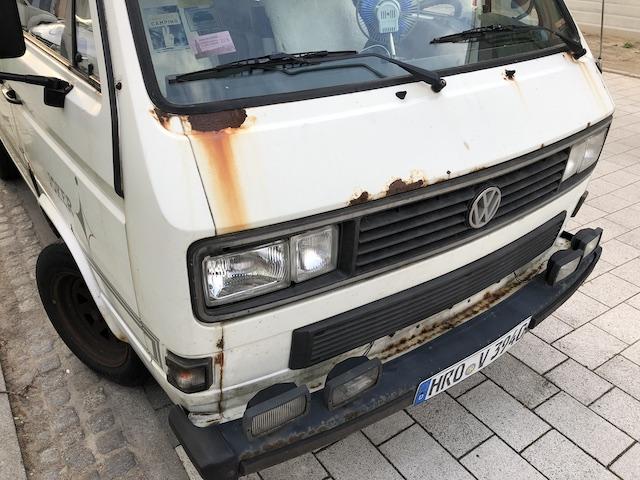 VW Bus Rost am T3 rust n fast projekt 2019 TÜV neu