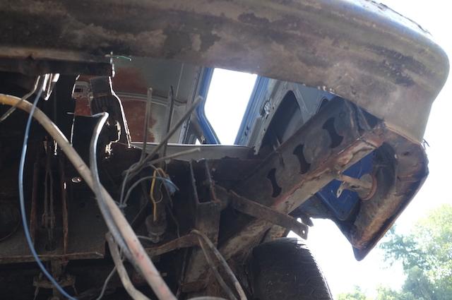 VW Bus T2a Lengetriebe umbaun auf T2b