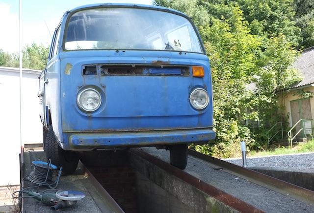 VW Bus T2b Doka Spender Lenkgetriebe