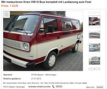 VW Bus T3 Blender erkennen und meiden mit dem BusChecker