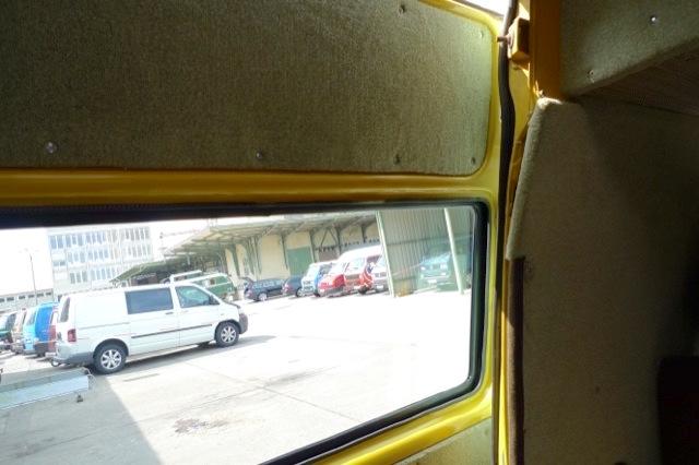 VW Bus T3 Fenster in hoher Posttür nachrüsten