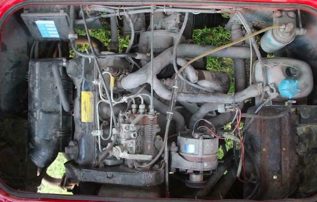VW Bus T3 Motor aus PKW Volkswagengruppe umgebaut