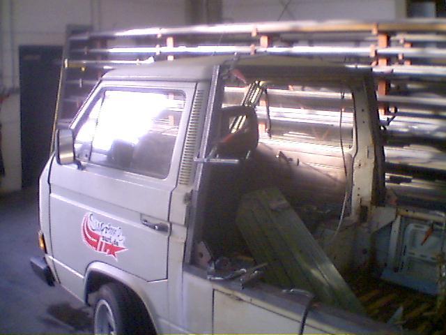 VW Bus T3 Partybus Rahmen gefertigt durch Metallbau Seyer Bargeshagen