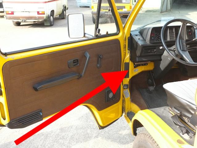 VW Bus T3 bis 1985 alter Sicherungskasten mit Schmelzsicherungen