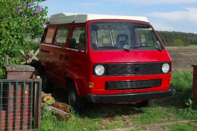 VW Bus T3 frisch lackiert VORSICHT !