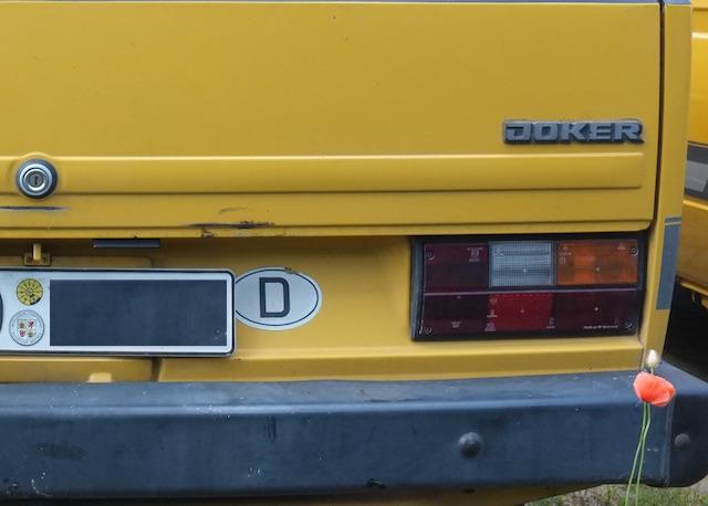 VW Bus T3 grosses Heckklappenschloss ab 1986