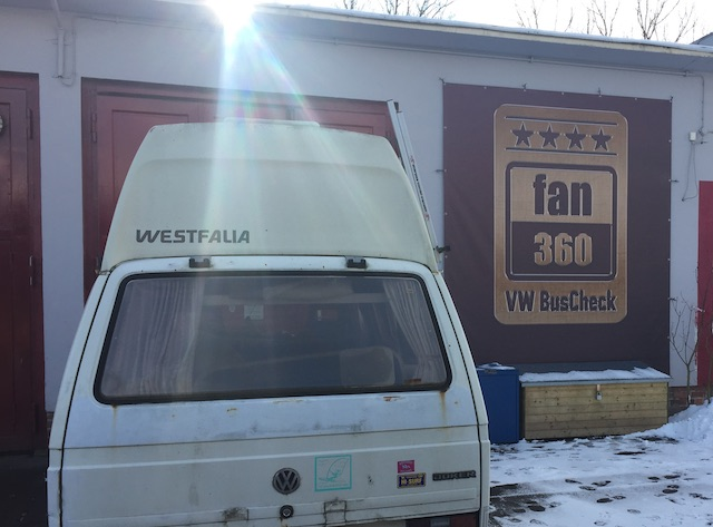 VW Bus T3 rust n fast projekt mit dem busChecker