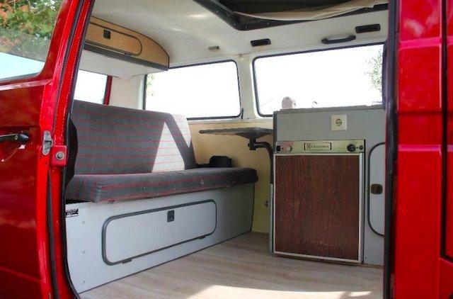 VW Bus T3 vor Baujahr 1986 mit schönem Interieur