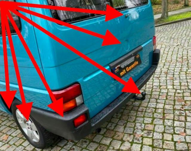 VW Bus T4 Blender kaufen Berlin Klassiker