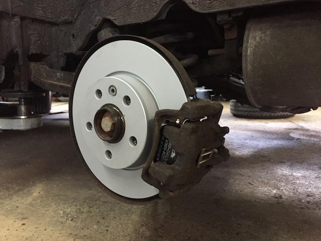 VW Bus T4 Bremse hinten komplett erneuern