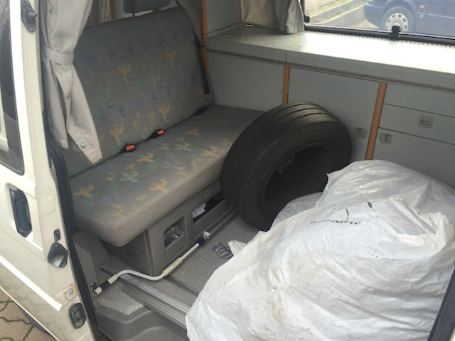 VW Bus T4 California Coach mit zusatz Sommerreifen