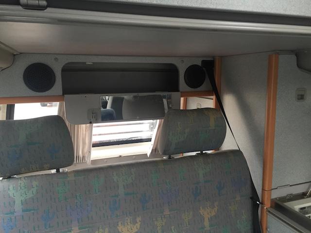VW Bus T4 HochDachCamper Ablagefächer hinten
