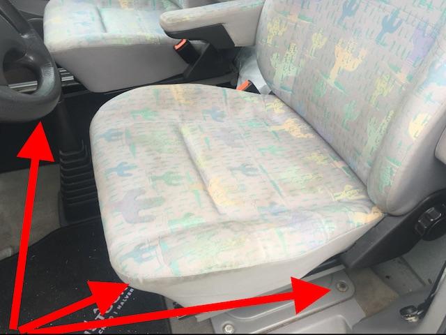 VW Bus T4 HochDachCamper Westfalia verbrauchter Zustand