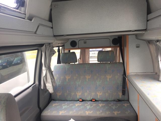 VW Bus T4 HochDachCamper mit prima Liegefläche