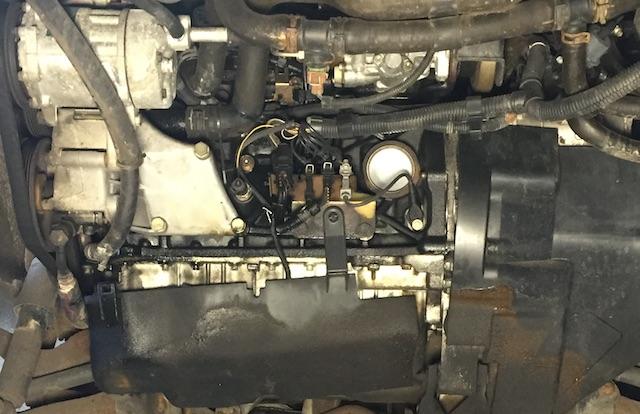 VW Bus T4 Motor ohne Schallschutzwanne Motor mit geringem Km Stand