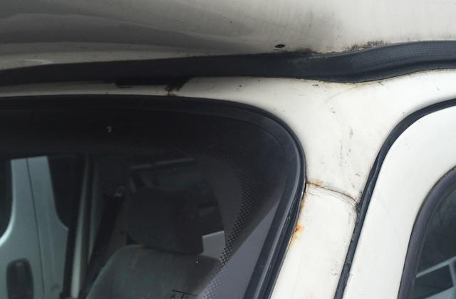 VW Bus T4 Scheibenrahmen Rost ist kein Spass